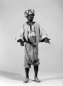 Moorish attendant