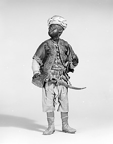King's Moorish attendant