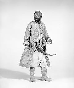 King's Moorish attendant