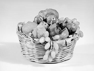 Basket of fruit and vegetables