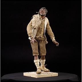 Man with dark skin (shepherd)