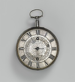 Traveling clock-watch with alarm