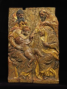 The Holy Family with Saints Anne and Joachim
