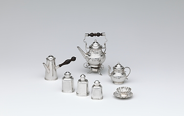 Set of six miniautre cups