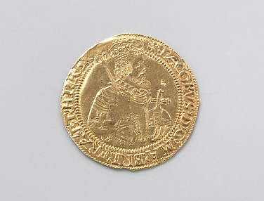 Unite coin of James I (r. 1603–25)