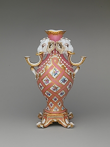 Vase (vase à tête d'éléphant) (one of a pair)
