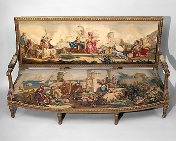 Furniture Depicting the Four Continents: America