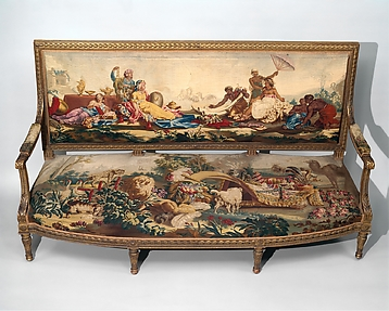 Furniture Depicting the Four Continents
