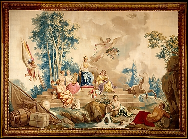 Europe, from a Suite of Tapestries Depicting the Four Continents