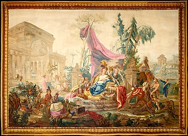 Asia, from a Suite of Tapestries Depicting the Four Continents