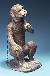 Seated monkey