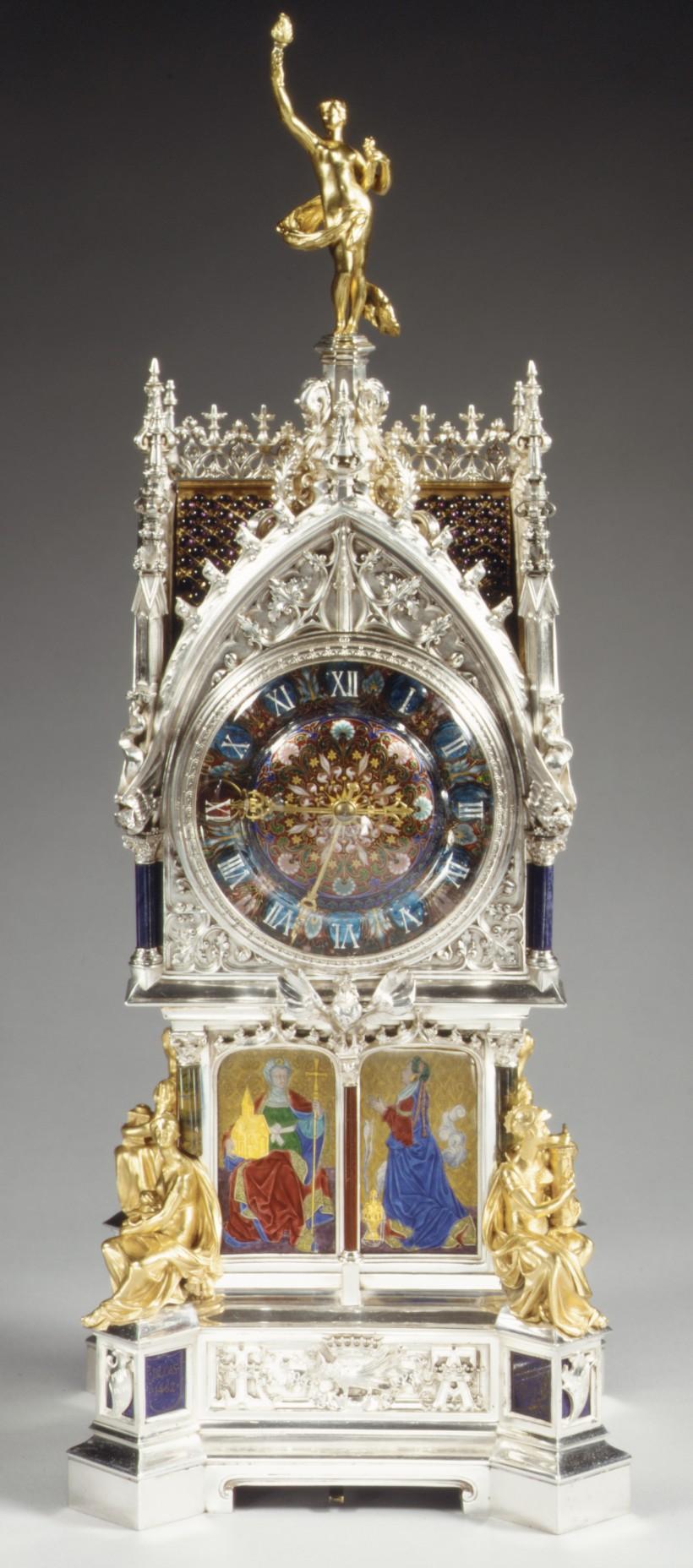 Mantel Clocks Mantels And Porcelain On Pinterest