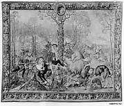 The Final Assault on the Boar, or December from a set of the Hunts of Maximilian