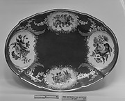 Fruit dish (Compotier ovale) (one of two) (part of a service)