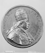Pope Clement XI (Giovanni Francesco Albani, b. 1649-1721, Pope 1700-21)