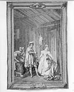 The Continence of Bayard from a set of The History of France