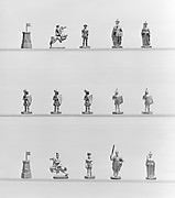 Chessmen (32) and board
