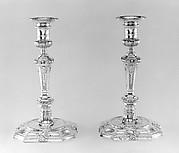 Set of four candlesticks