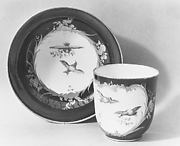Cup (Gobelet Calabre) and saucer