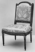 Side chair (Chaise à la reine) (part of a set)