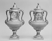Vase with cover (Vase B de 1780) (one of a pair)