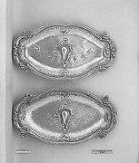 Pair of fruit dishes