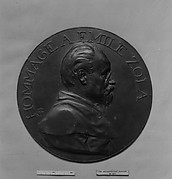 Honoring Emile Zola (1840-1902), French novelist, and the part he took in the Dreyfus case