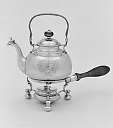 Teakettle and lamp stand
