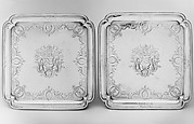 Pair of salvers