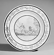 Plate (one of a set of five)