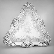 Salver for a teakettle