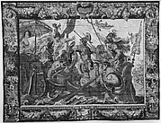 The Battle of Actium from a set of The Story of Antony and Cleopatra
