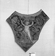 Putto with garlands
