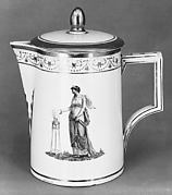 Milk pot (?) (part of a coffee service)