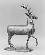 Cup in the form of a stag