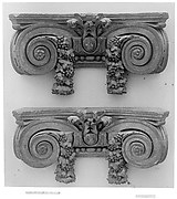 Pair of pilaster capitals