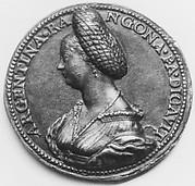 Portrait of Argentina Rangona (d. 1550)