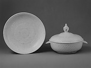Bowl with cover and tray