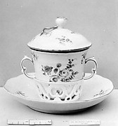 Cup and saucer (Trembleuse)