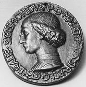 Sigismondo Malatesta as Captain of the Roman Church