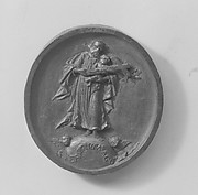 Saint Joseph with Christ Child and Cross