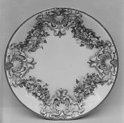 Eight saucers (part of a service)