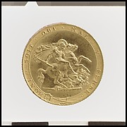 George III pattern sovereign with St. George reverse