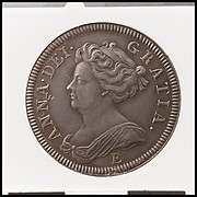 Queen Anne proof shilling