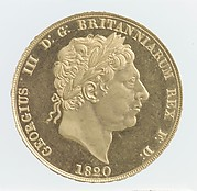 George III double sovereign