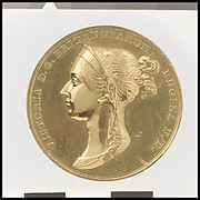 Queen Victoria Coronation Medal