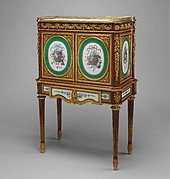 Upright Secretary (secrtaire  abattant or secrtaire en cabinet)