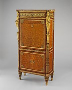 Drop-front secretary (Secrtaire  Abattant or secrtaire en armoire)