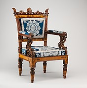 Pair of armchairs (part of a set)