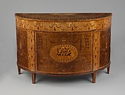 Commode (one of a pair)